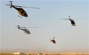 ۴ فروند بالگرد شاهد تحویل نیروی زمینی سپاه پاسداران شد
