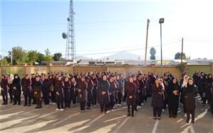 همزمان با سراسر کشور، مراسم بازگشائی مدارس در سیلوانا برگزار شد