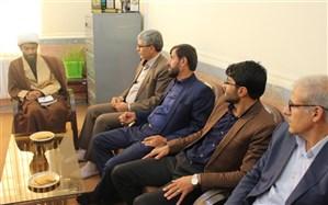 دیدار مدیر سازمان دانش آموزی کهگیلویه و بویراحمد با رئیس اتحادیه انجمن های اسلامی دانش آموزان