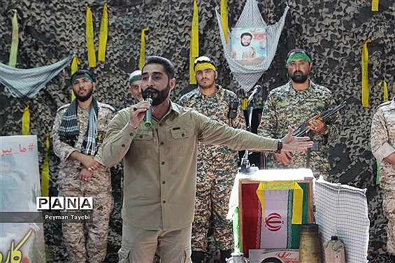 آیین نمادین زنگ مهر و مقاومت در دبیرستان محمد رسول الله سمنان-2