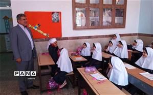 بازدید مدیرکل آموزش و پرورش شهرتهران از وضعیت مدارس پس از بازگشایی