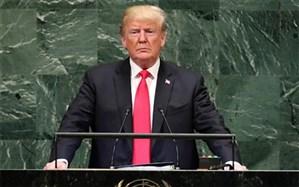 تصویر/ رفتار جالب نماینده ونزوئلا هنگام سخنرانی ترامپ در سازمان ملل