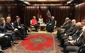 روحانی در دیدار مرکل: بیانیه اروپا اتهام زنی به ایران بود