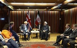 روحانی در دیدار با جانسون: لندن در اجرای تعهدات برجام کوتاهی کرده است