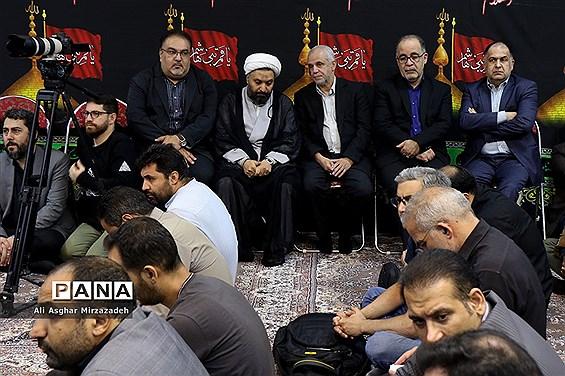 مراسم عزاداری «جلوه حسین(ع)» با حضور اهالی رسانه و فرهنگ در فرهنگسرای رسانه