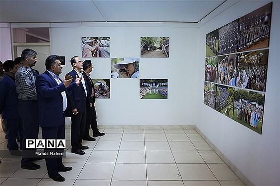 افتتاح نمایشگاه عکس دائمی تشکیلات دانش آموزی