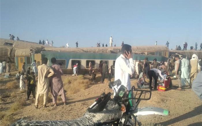 کشته شدن ۳ نفر بر اثر خروج قطار از ریل