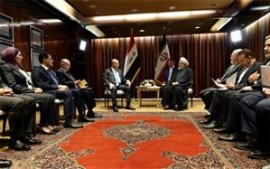 روحانی در دیدار صالح خواستار شد: حل مشکلات بانکی بین ایران و عراق  در آستانه اربعین
