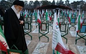 رهبر انقلاب: افتخاری است برای کویها و برزنها که نام شهید بر فراز آنها بدرخشد