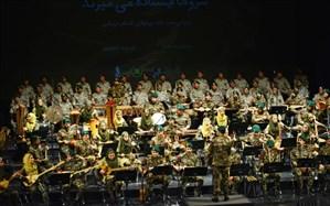 اجرای کلاه سبزهای نیروی دریایی ارتش در تالار وحدت