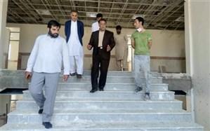 بازدید مدیرکل آموزش و پرورش سیستان و بلوچستان از طرح های نیمه تمام منطقه لاشار