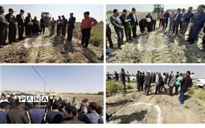آغاز بازگشایی پروژه کمربندی شمال غرب شهر چناران در هفته دفاع مقدس