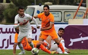 جام حذفی ایران؛ اولین سهمیه یک هشتم با پنالتی به مس رسید