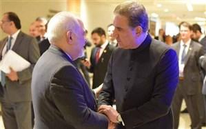 رایزنی دوباره ظریف و شاه محمود قریشی