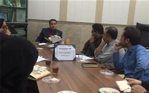 تشکیل جلسه  شورای پرورشی آموزش و پرورش ناحیه یک ری