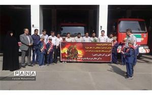گرامیداشت روز آتش نشان در چهاردانگه