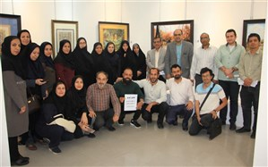 برگزاری نمایشگاه هنرهای تجسمی فرهنگیان ناشنوای فارس در نگارخانه ایمان و اندیشه