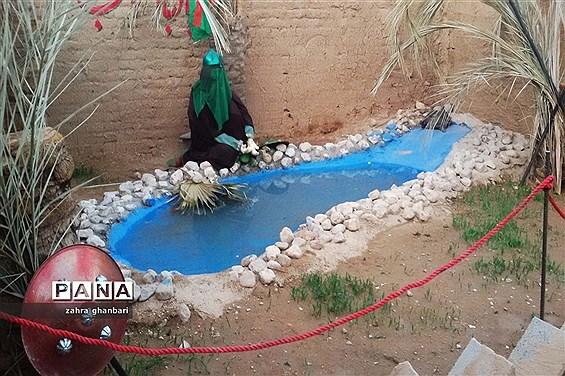 برپایی نمایشگاه خورشید بی غروب بهمناسبت ماه محرم و هفته دفاع مقدس در نیریز