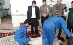 قتل و سوزاندن جسد در گورستان