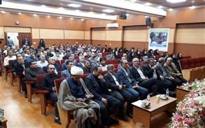 با حضور فرمانده هشت سال دفاع مقدس؛ آئین تجلیل از ایثارگران دانشگاه علوم پزشکی زنجان برگزارشد