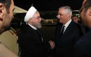 رئیس جمهوری وارد ارمنستان شد