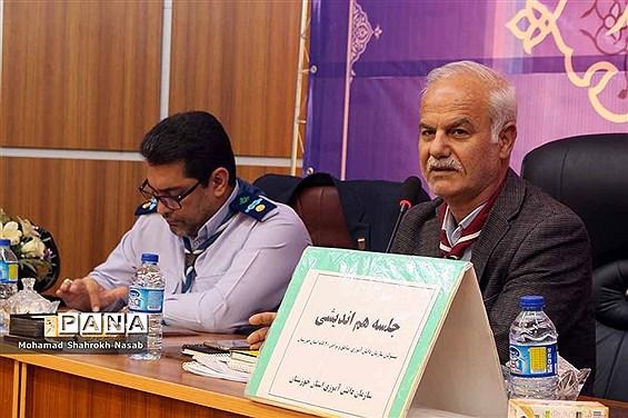 نشست روسای مناطق و نواحی سازمان دانشآموزی خوزستان