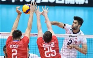جام جهانی والیبال؛ ایران با شکست شروع کرد