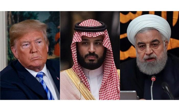 ترامپ روحانی سلمان