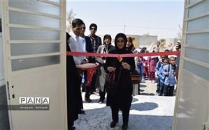 مدرسه پنجکلاسه خیرساز   روستای کنگرو شهرستان قلعهگنج افتتاح شد