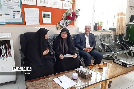 بازدید مدیرکل  پاسخگویی به شکایات وزارت آموزش و پرورش از مدارس آذربایجان غربی