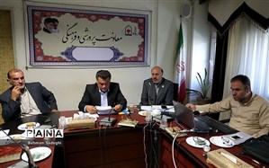 گفتوگوی معاون و مشاوران رئیس سازمان دانشآموزی با مدیران استانی سازمان