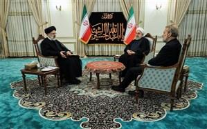 درخواست فراکسیون امید از لاریجانی: روحانی و رئیسی به مجلس بیایند