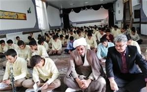 برگزاری مراسم بزرگداشت شهیدان دانش آموز در دبیرستان شهید بهشتی  کاشمر