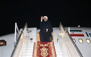 روحانی وارد تهرانشد