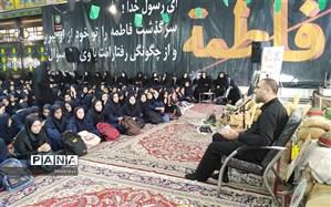یادواره شهدای دانش در مسجد جامع شهرستان طرقبه شاندیز برگزار شد