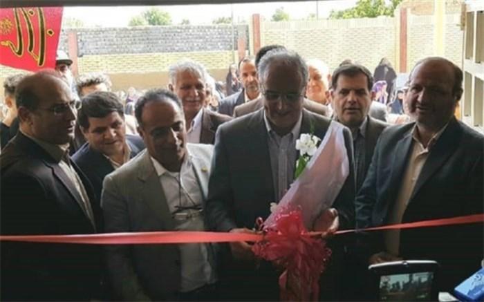 افتتاح مدرسه خیّرساز 3 کلاسه زنده یاد داود عصاری در شهرستان نهاوند