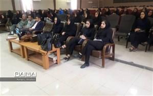 برگزاری کارگاه آموزش های محیط زیستی به مربیان پیش دبستانی شهرستان امیدیه