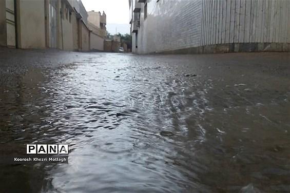 اطلاعیه هواشناسی درباره آبگرفتگی معابر عمومی در پی بارش باران