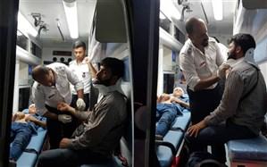 تمام مصدومان حادثه رانندگی بصره به ایران منتقل شدند