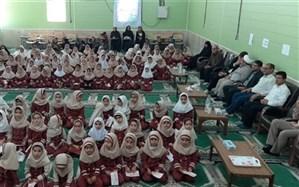 مراسم نمادین جشن مهر عاطفه ها در دبستان دخترانه تزکیه منطقه آب پخش برگزار شد