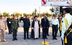صبحگاه مشترک نیروهای مسلح در ارومیه برگزار شد