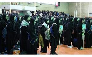 اعزام 320 نفر از دانش آموزان دختر ناحیه یک اردبیل به مناطق عملیاتی شمالغرب کشور