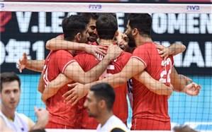 جام جهانی والیبال؛ ایران روی نوار برد افتاد