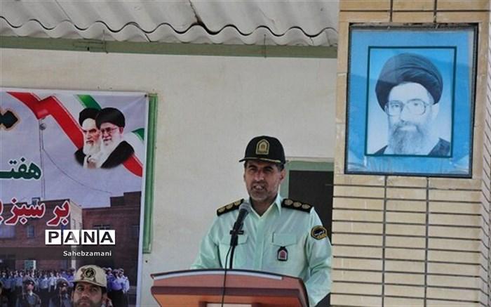 نیروی انتظامی به عنوان پیشقراول نیروهای مسلح در برقراری نظم و امنیت اجتماعی به شمار می رود،