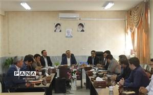 برگزاری جلسه شورای اداری آموزش و پرورش کلات