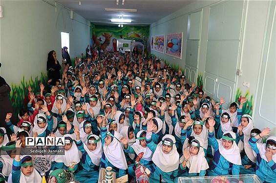 برگزاری مراسم شهادت حضرت رقیه (س) در دبستان 22 بهمن دوره اول شهرستان آباده