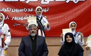 دانش آموز آذربایجان شرقی قهرمان مسابقات تکواندوی کشور شد