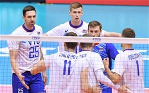 نتایج روز پنجم جام جهانی والیبال؛ روسیه از بحران فاصله گرفت