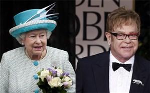 وقتی «التون جان» مچ ملکه الیزابت را در حال سیلی زدن به خواهرزادهاش میگیرد