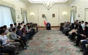 روحانی: رقابت سالم و عادلانه در همه زمینهها موجب تحرک و پیشرفت است